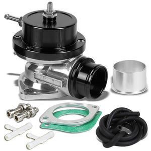 "Type-S/RS/RZ 30 PSI Turbo Blow Off Valve BOV+9""L Flange Dual Port Pipe Black-Performance-BuildFastCar"