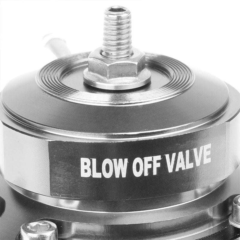 "Gold Type-FV Adjustable 30 PSI Blow Off Valve BOV+Black 6"" Straight Flange Pipe-Performance-BuildFastCar"