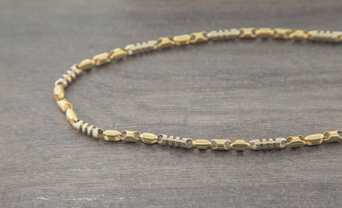 10K Gold Bullet Chain - 5.00 mm