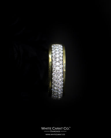 1.41 CT. Exclusive Diamond Men's Ring in 10K Gold