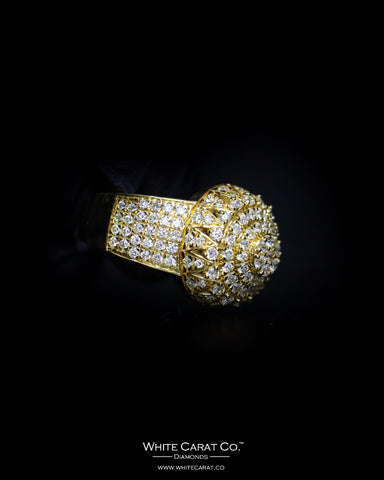 2.32 CT. Exclusive Diamond Men's Ring in 10K Gold