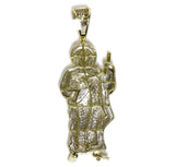 1.02 CT. Shepherd Jesus Diamond Pendant in 10K Gold