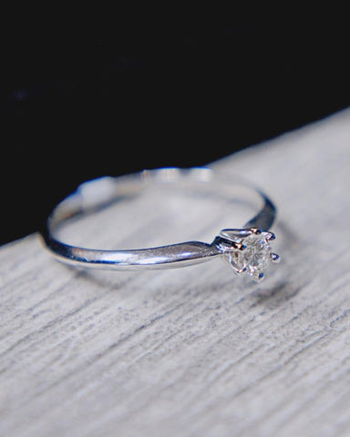 0.15 CT. Diamond Engagement Ring in 14K Gold*
