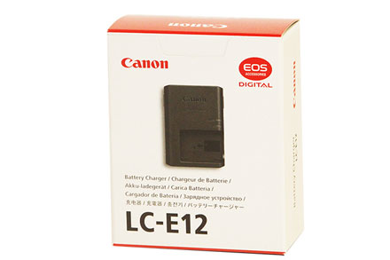 Canon Battery Charger LC-E12 by Canon at bandccamera