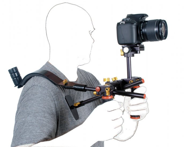 Dotline Double Handle Rig with Shoulder by Dotline at bandccamera