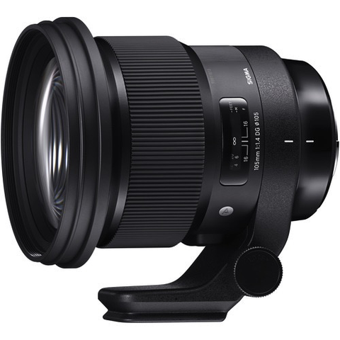 Sigma 105mm f/1.4 DG HSM Art Lens for Canon EF by Sigma at B&C Camera