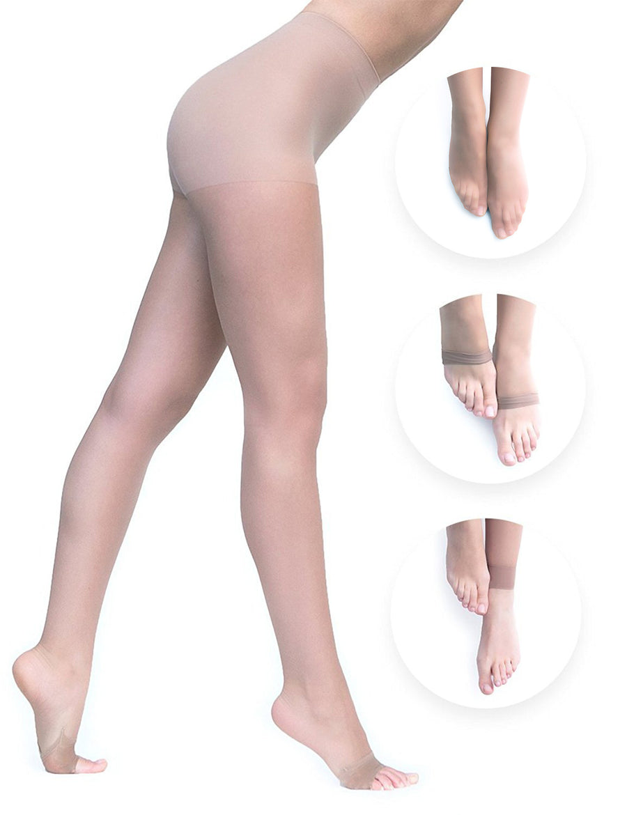 Convertibles Pantyhose - Double Nude Pack - Convertibles Pantyhose