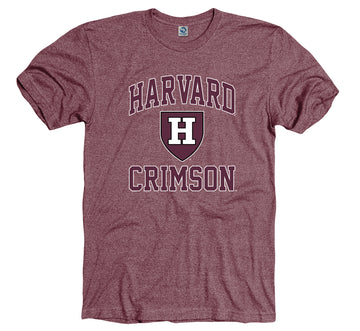 Harvard Crimson Men's Tri blend T-Shirt