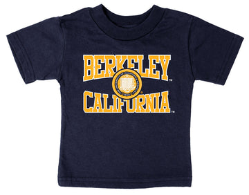 UC Berkeley Cal Multi Color Imposed Seal - Navy