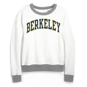 UC Berkeley Cal League Women's Sweatshirt-White