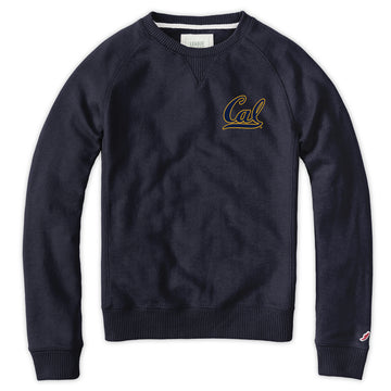 UC Berkeley Cal League Women's Seatshirt-Navy