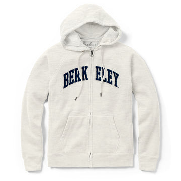 UC Berkeley Cal Applique League Women's Sweatshirt-Oatmeal