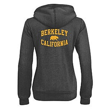University Of California Berkeley Golden Bears Cal Champion Women's Sweatshirt- Charcoal