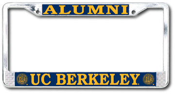 UC Berkeley Alumni Chrome License Plate Frame