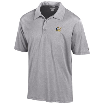 UC Berkeley Cal Embroidered vapor polo - Gray