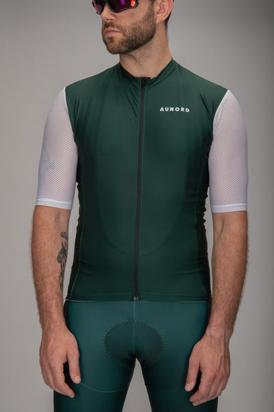 Men Jersey Green-White