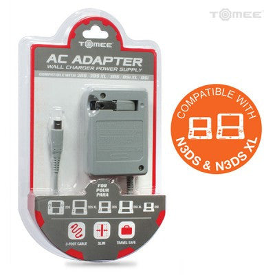 AC Adapter for New 3DS/ New 3DS XL/ 2DS/ 3DS XL/ 3DS/ DSi XL/ DSi