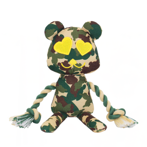 Lovelly Creations Toy in Camo Green