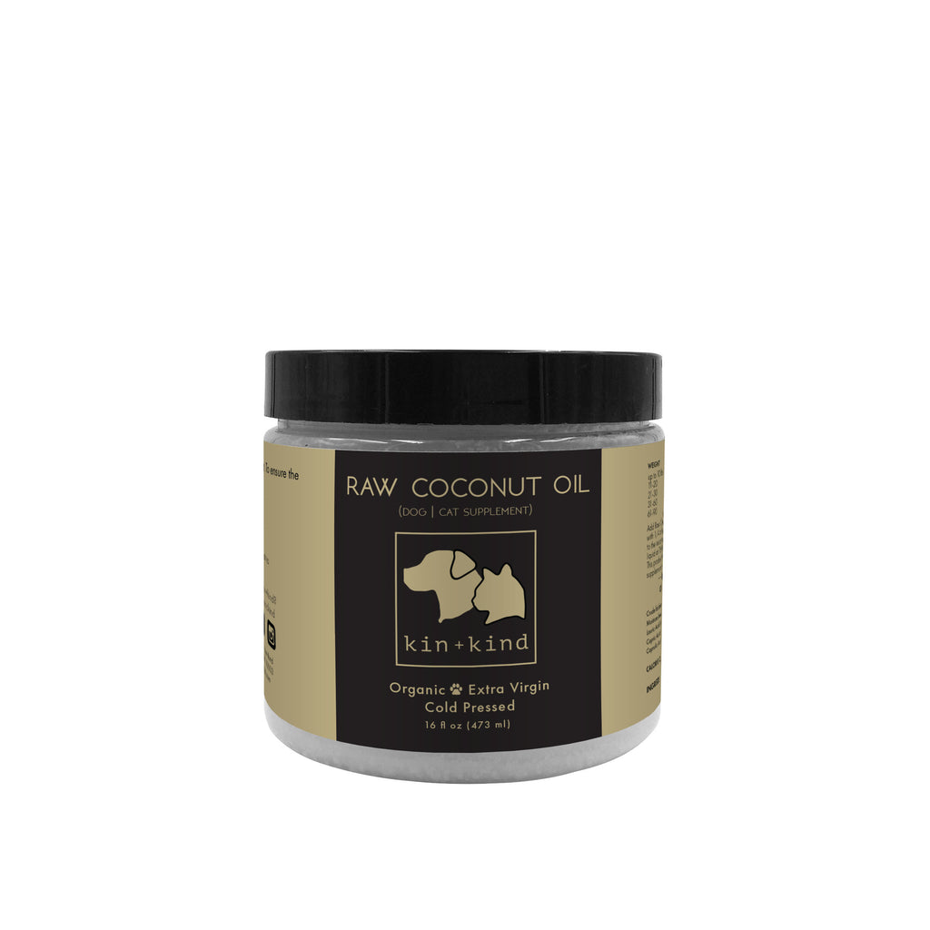 Kin+Kind Raw Coconut Oil