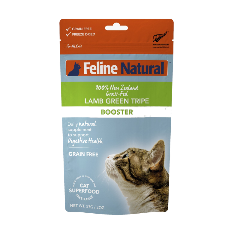 Feline Natural Lamb Green Tripe Booster