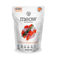 MEOW Freeze Dried Chicken & King Salmon Treats 50g
