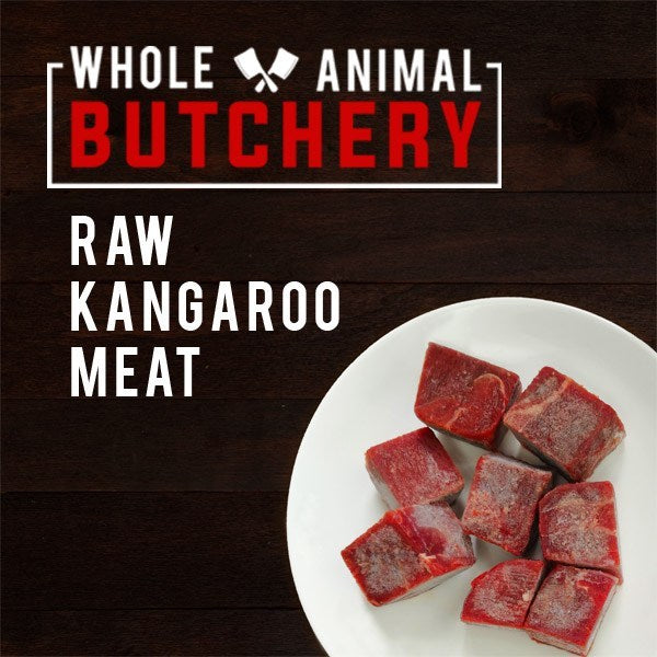 Whole Animal Butchery Frozen Roo Cubes
