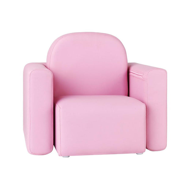 Convertible Armchair/Table - Pink