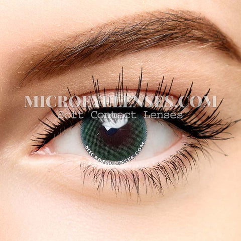 Micro® Eye Circle Lens Polar Lights Green II  Natural Colored Contacts Lens M079