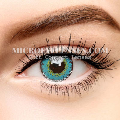 Micro® Eye Circle Lens Gem Light Blue Cosplay Colored Contact Lenses M01894