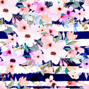 PRE-ORDER Floral Nautical - Minnie & Mae