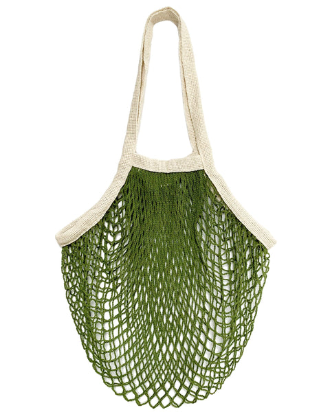 the french market bag green