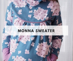 Monna Hoodie Class - April 27th - Weekend