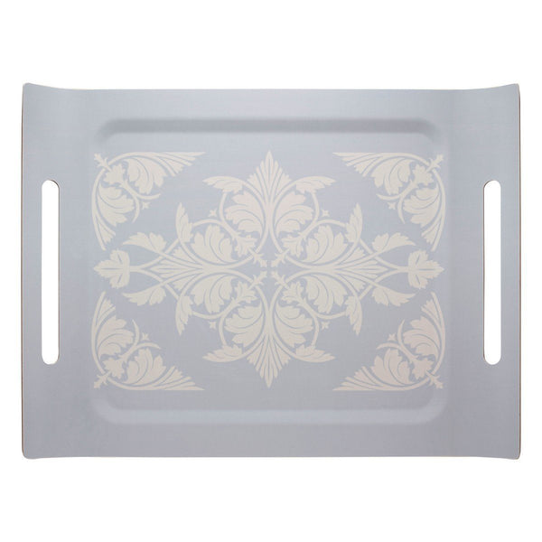 Syracuse Beige Tray by Le Jacquard Français | Fig Linens - Wood, rectangular serving tray