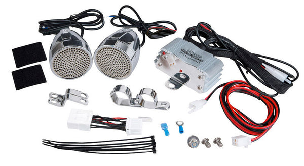 Pyle PLMCA60 300w Motorcycle Mount Amplifier w/MP3/Ipod /USB Charger