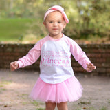 It's Not Easy Being A Princess - Graphic Raglan & Tutu