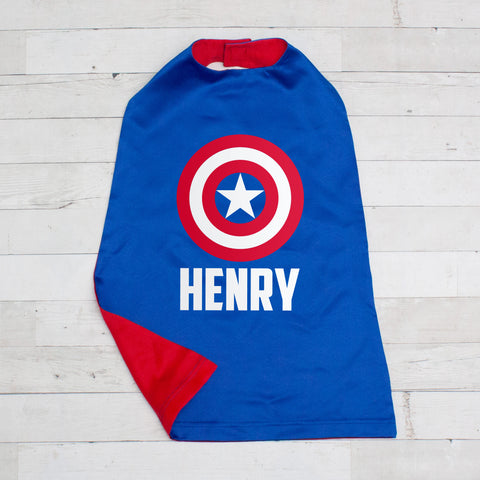 Toddler Superhero Cape - 6 Choices