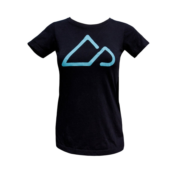 Women's Singletracks Logo T-shirt - Black