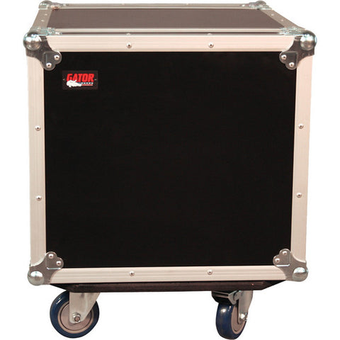 Gator G-TOUR 10U CAST ATA Wood Rack Case with Casters