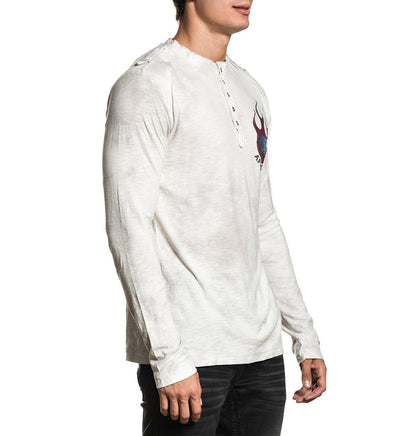 Fire - Mens Long Sleeve Tees - Affliction Clothing