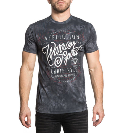 Ck Overwatch - Mens Short Sleeve Tees - Affliction Clothing