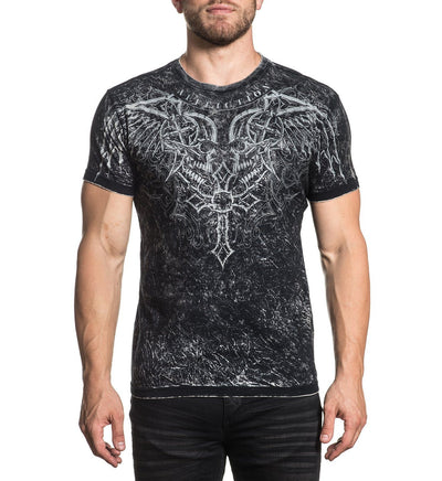 Milan - Reversible - Mens Short Sleeve Tees - Affliction Clothing