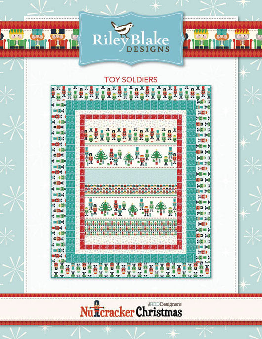 Nutcracker Toy Soldiers Free Pattern