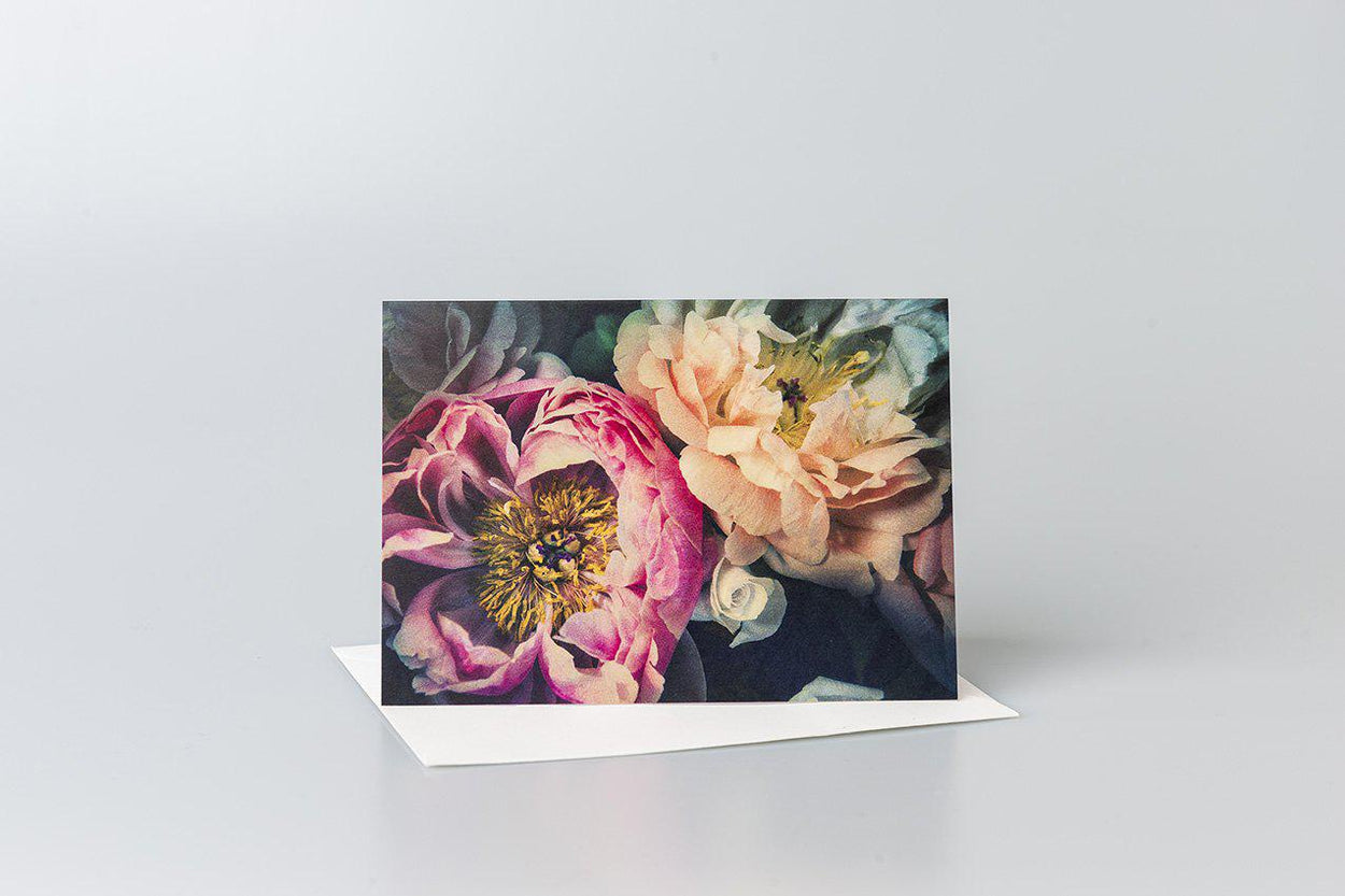 The Peonies Greeting Card