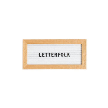 The Mini White - Letterfolk