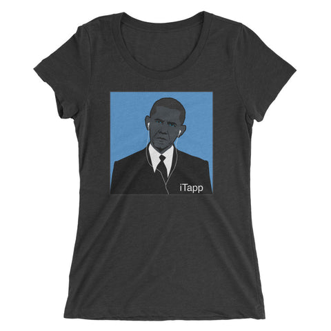 Obama i-Tapp - Women's T-Shirt