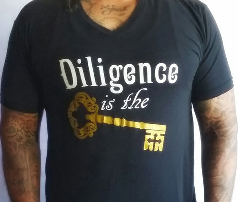 "Winter Men's Apparel ""Diligence is the Key"""