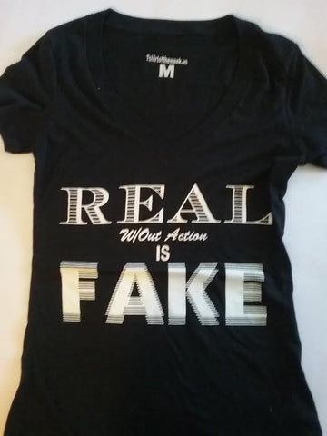 "Winter Apparel ""REAL w/out Action is FAKE"""