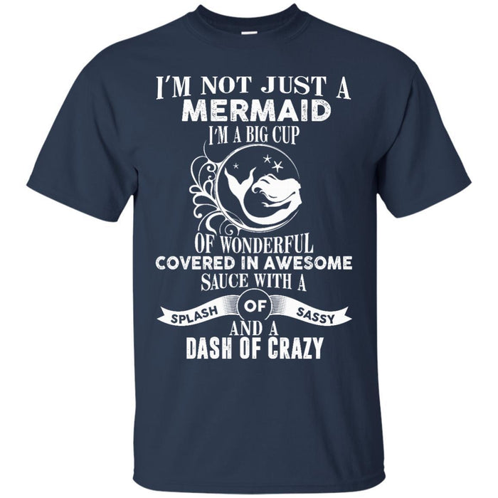 I'm Not Just A Mermaid Tshirt & Hoodie CustomCat