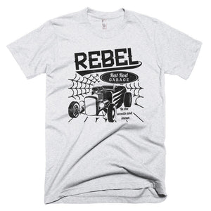 Rebel Rat Rod Shop - Modern Rodder - Men's T-Shirt