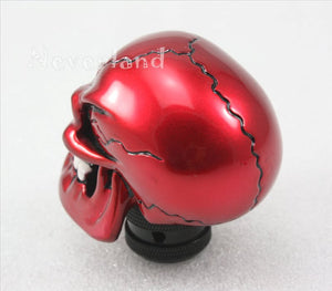 Resin Skull Red - Universal Manual Shift Knob